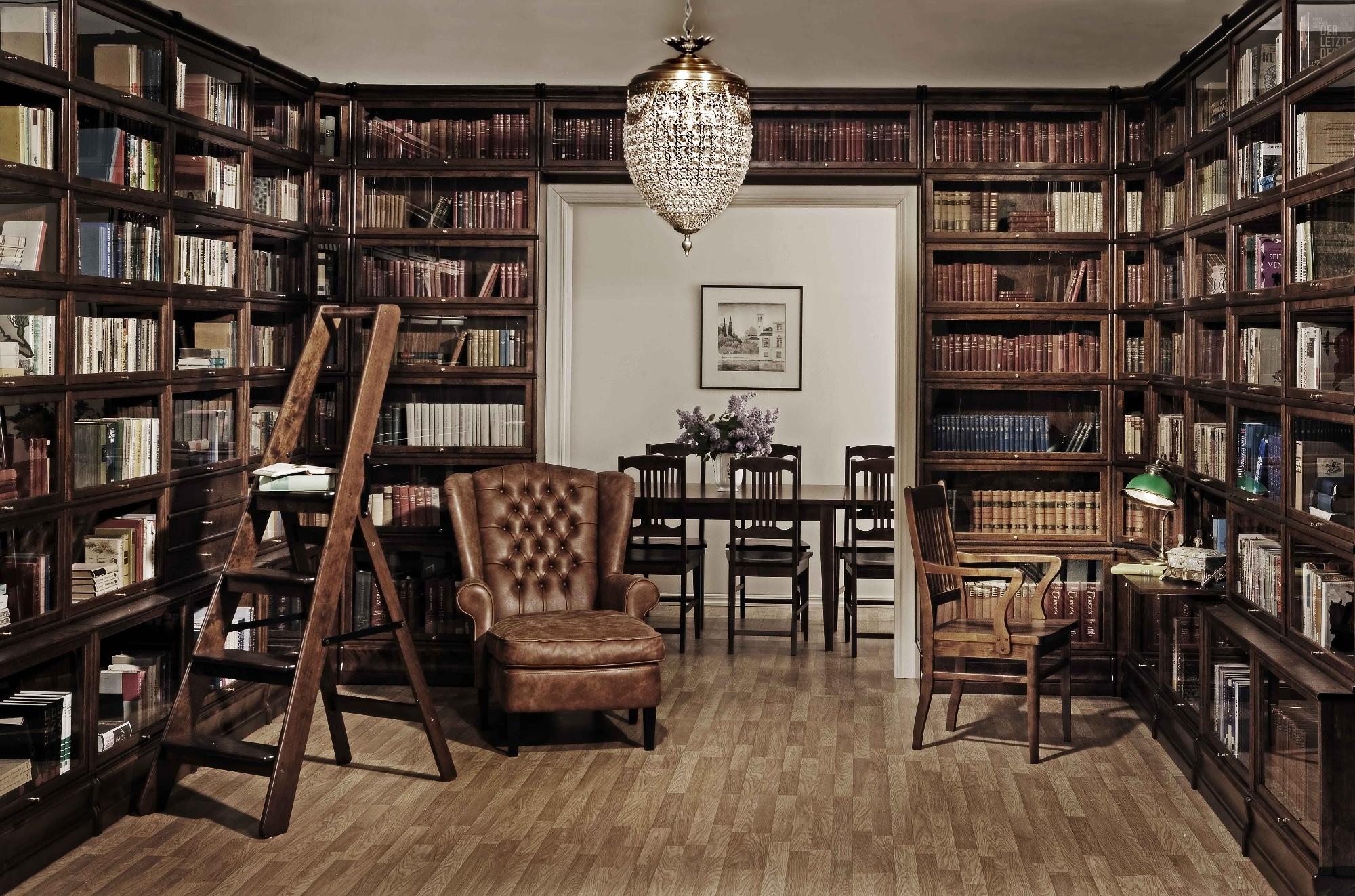 Как обустроить идеальную библиотеку: 6 советов - полезные со.